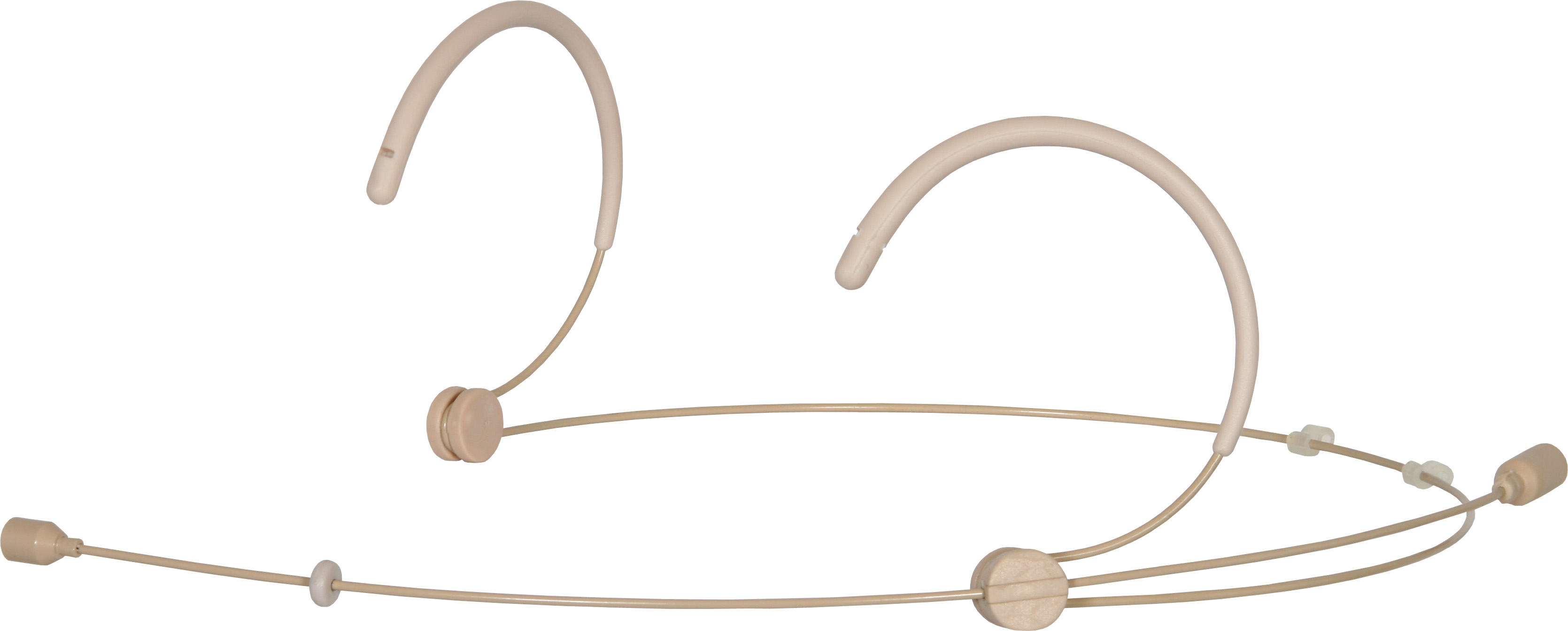 Galaxy Audio HS3-OBG-SHU Beige Lightweight Headset Microphone Wired for Shure