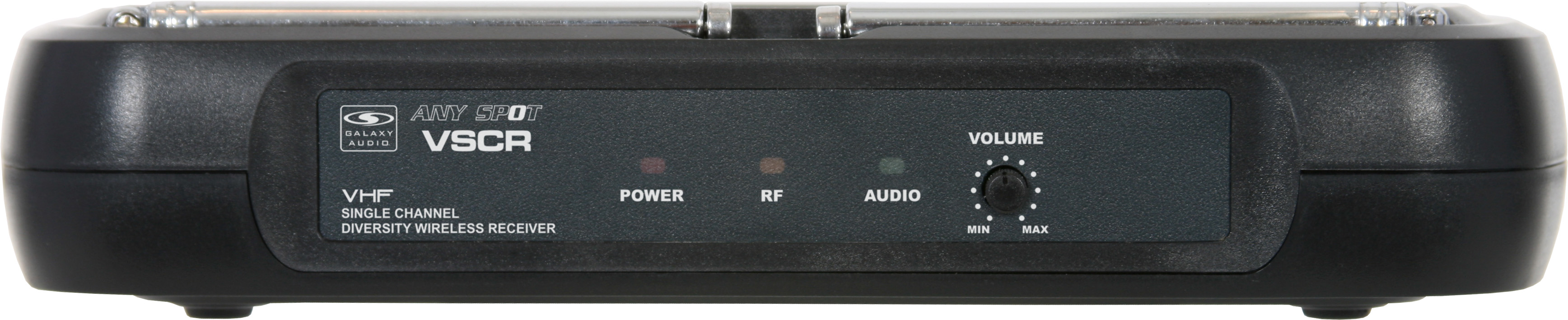Galaxy Audio VSC Wireless Microphone System Receiver with RF Indicator (VSCR)