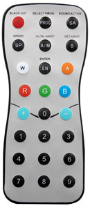 Elation DLED RFR Rf Remote Control For DLed Strip RGBWA