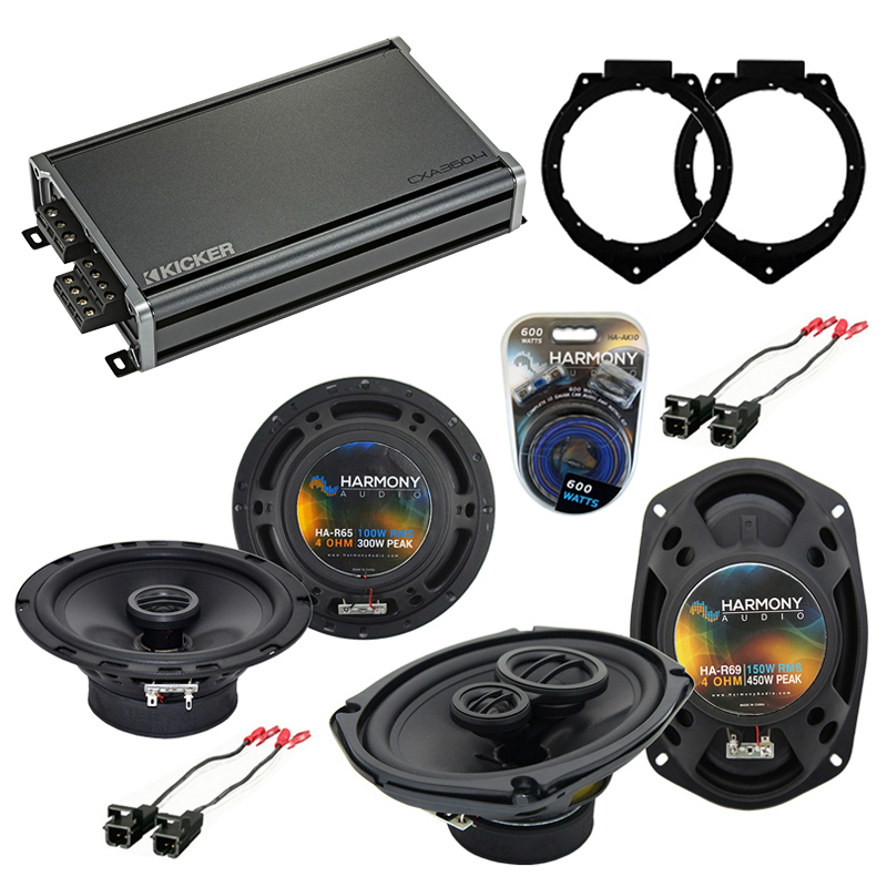 fits chevy malibu classic 2008 rear deck replacement harmony ha r69 speakers ha spk replace410. Black Bedroom Furniture Sets. Home Design Ideas