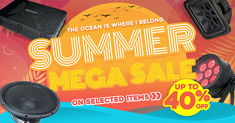 Save Up to 40% Summer Sale!
