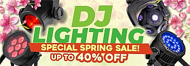 DJ Lighting Spring Sale!
